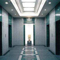 067-03シシンヨー東邦ビルーエレベーターホール